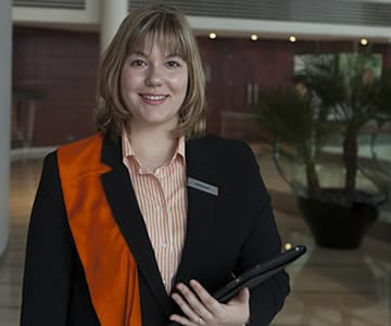 Margaux Mary, Welcomer, Pullman Paris Bercy