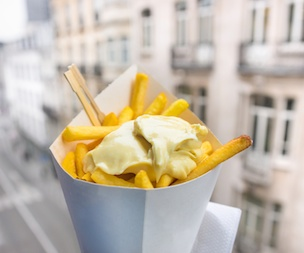 Visit a Local Frites Stand