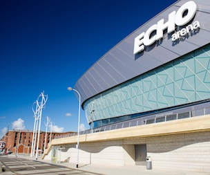 Echo Arena in Liverpool