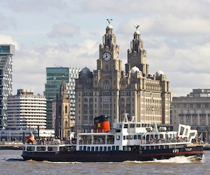 Scenic River Cruise on the Mersey