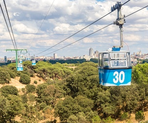 Madrid Cable Car