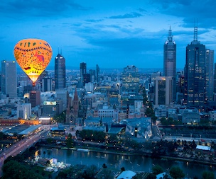 Melbourne Hot Air Balloon Experience